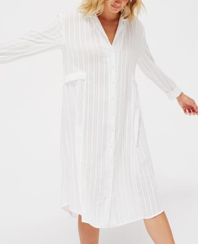 White shirt dress rented from Armoire Style